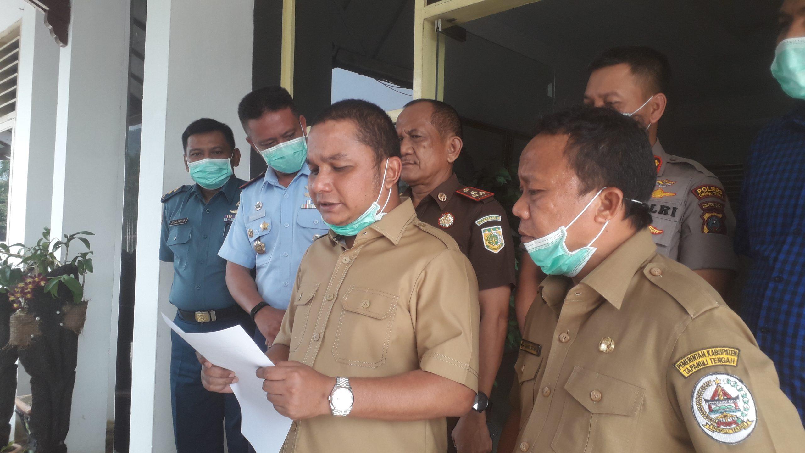 Bupati Tapanuli Tengah, Bakhtiar Ahmad Sibarani. Foto: Rakyatsumut.com/ Damai