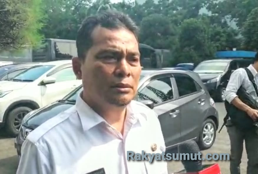 Kepala Dinas Kesehatan Provinsi Sumatera Utara Alwi Mujahit Hasibuan. Foto: Rakyatsumut.com /Ucis
