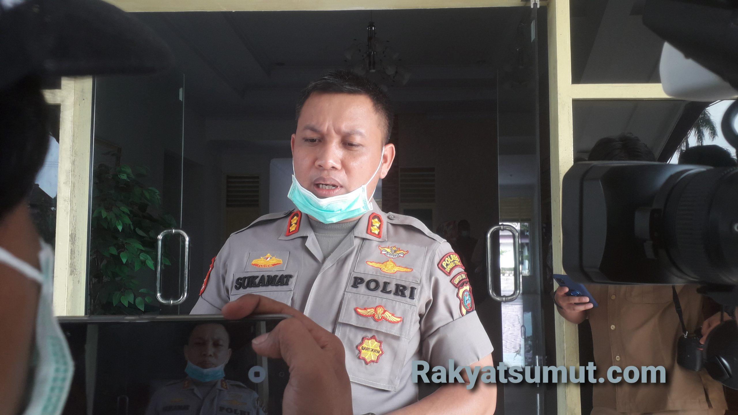 Kapolres Tapteng AKBP Sukamat. Foto: Rakyatsumut.com/ Damai