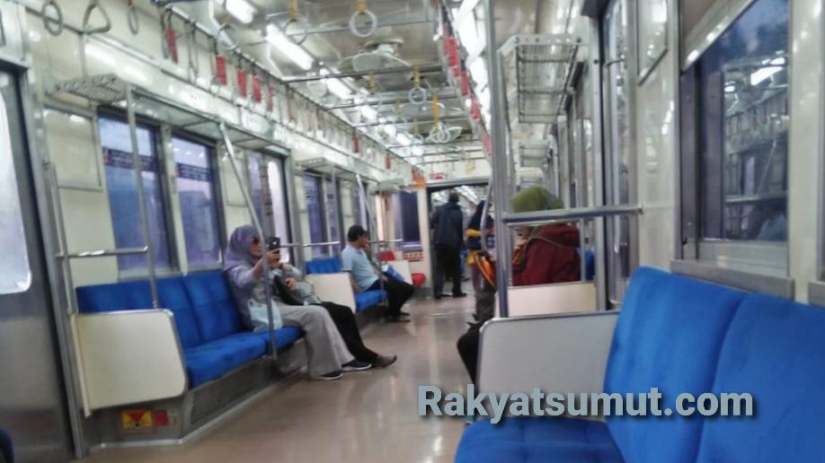 Situasi KRL di Jakarta. Foto: Rakyatsumut.com/ Afip