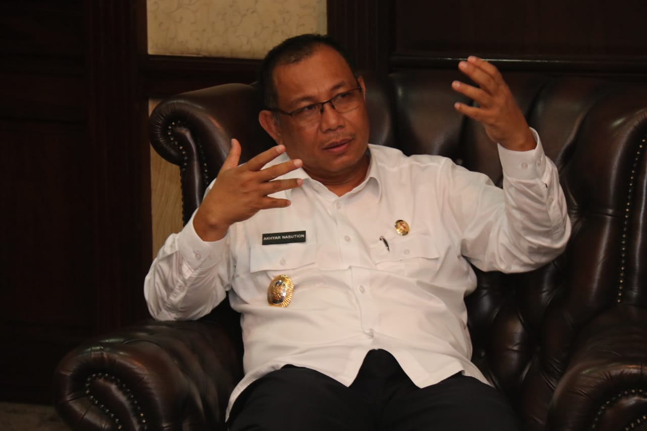 Pelaksana tugas Wali Kota Medan Akhyar Nasution. Foto: Istimewa