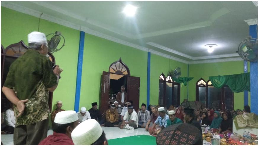 Desa Hutabaru Nangka Gelar Doa Bersama. Foto : Rakyatsumut.com/ Rifai Dalimunthe