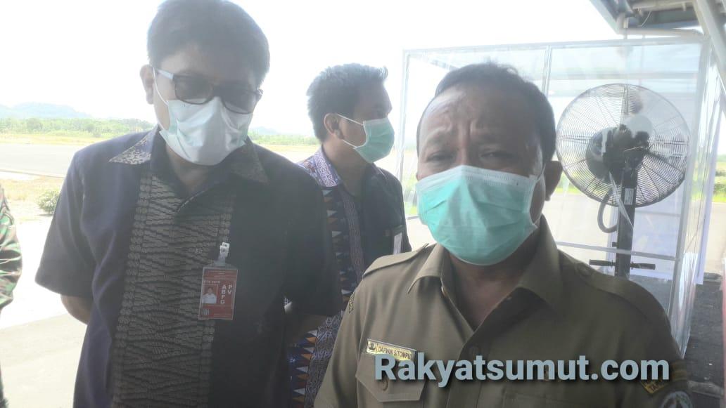 Wakil Bupati Tapanuli Tengah, Darwin Sitompul. Foto: Rakyatsumut.com/ Damai Mendrofa