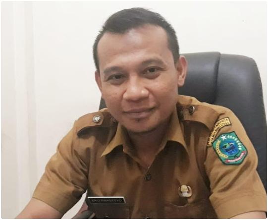 Kabid Pengadaan, Pemberhentian dan Informasi Pegawai BKD Paluta, Eko Prasetyo. Foto: Istimewa.