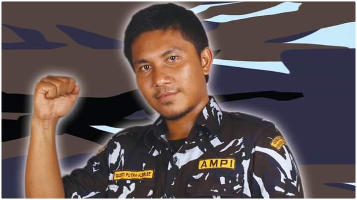 Ketua DPD AMPI Paluta, Gusti Putra Hajoran Siregar. Foto: Istimewa