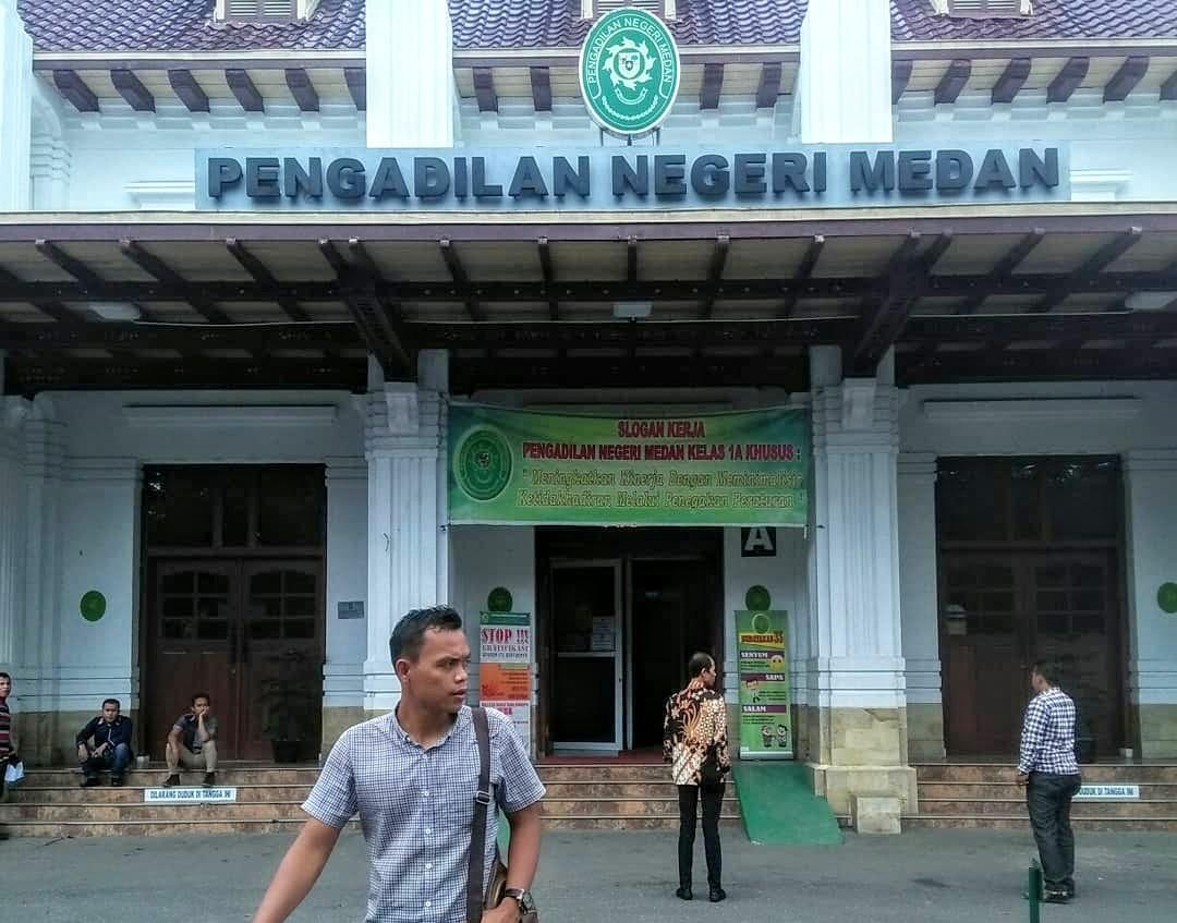 Pengadilan Negeri Medan. Foto: Istimewa