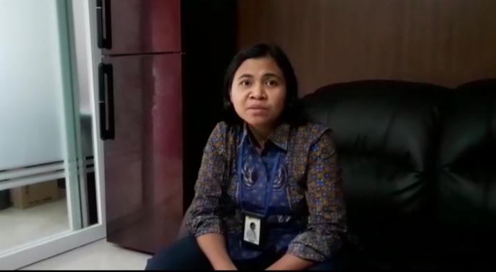 Manager Pemasaran dan Pelayanan Pelanggan PLN Sibolga, Junita Simatupang Foto: Rakyatsumut.com/ Mirwan Tanjung