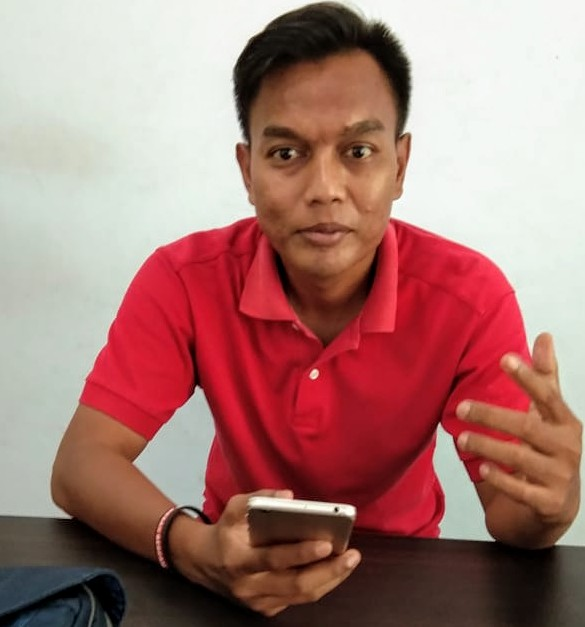 Aktivis Medan Utara Institute, Wiji Gatot Suyono. Foto: Dok. Pribadi