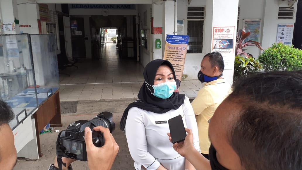 Dirut RSU Sibolga, dr Hotma Nauli Hutagalung. Foto: rakyatsumut.com/ Mirwan Tanjung