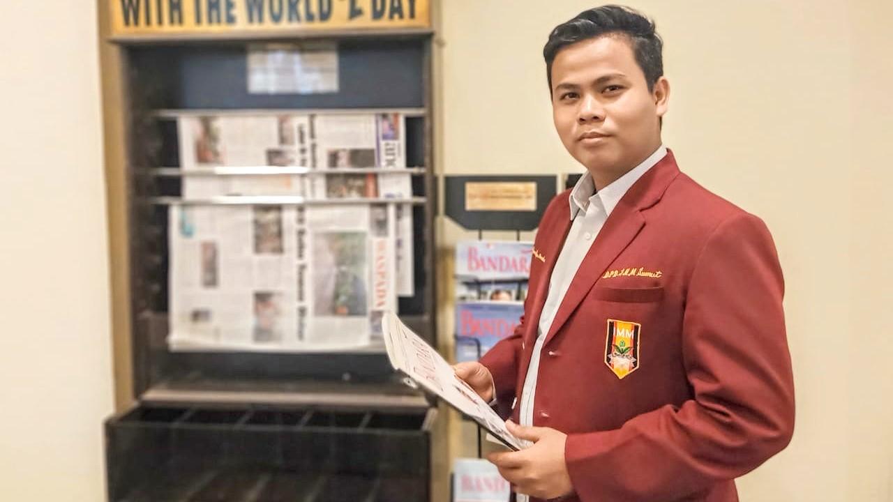 Ketua Umum IMM Sumut, Zulham Hidayah Pardede. Foto: Dok. Pribadi