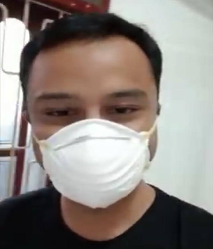 Ajudan Wakil Gubernur Sumut. Foto: istimewa