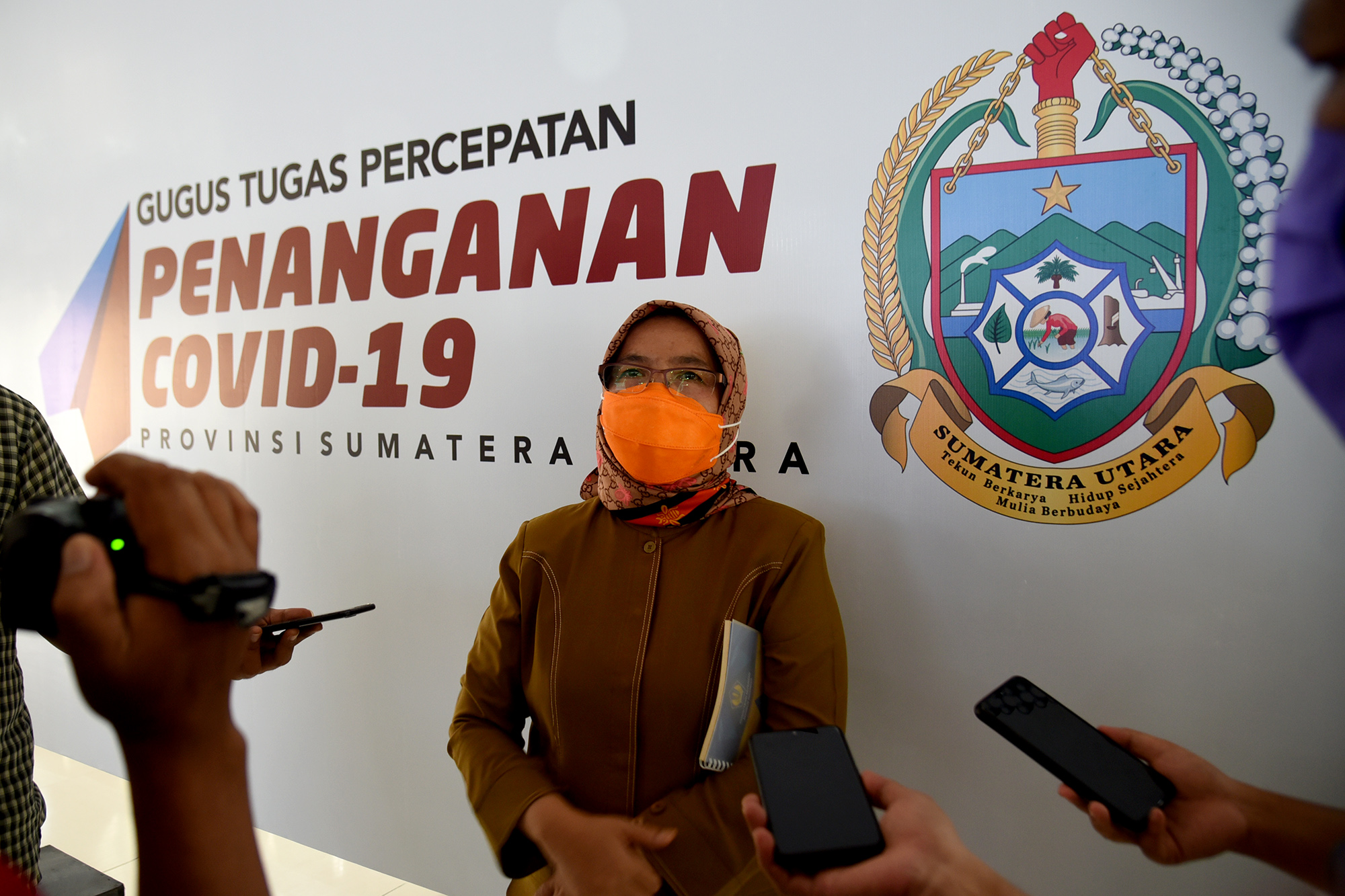 Sekertaris Daerah Provinsi Sumatera Utara R Sabrina. Foto: Biro Humas & Keprotokolan Setdaprovsu / Fahmi Aulia
