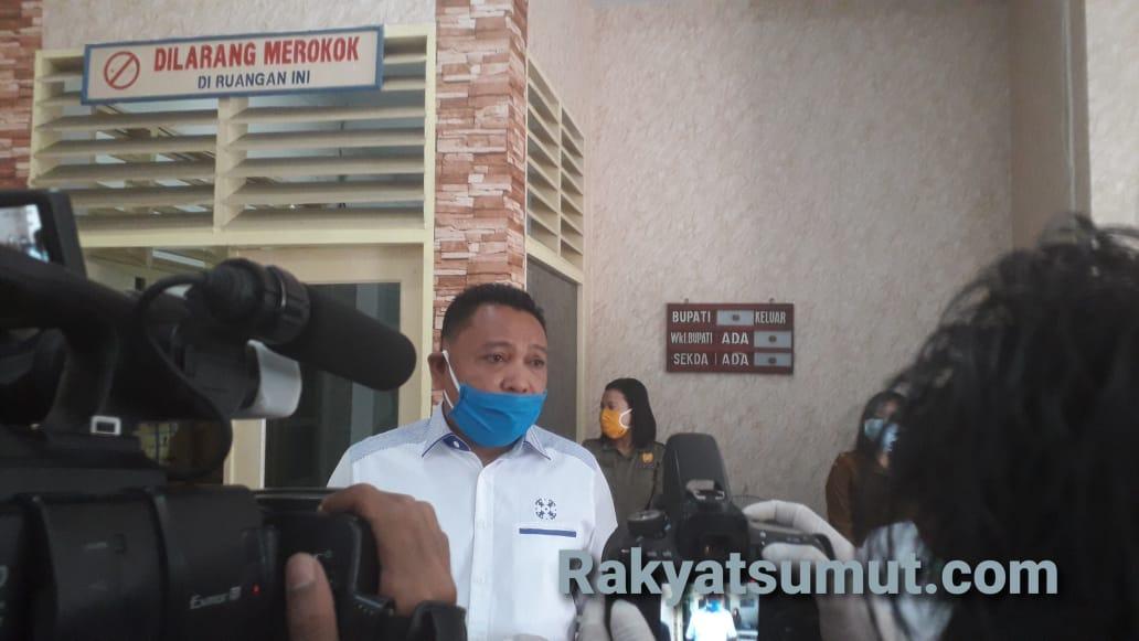 Anggota DPRD Sumatera Utara, Tangkas Manimpan Lumbantobing. Foto: Rakyatsumut.com/ Damai Mendrofa