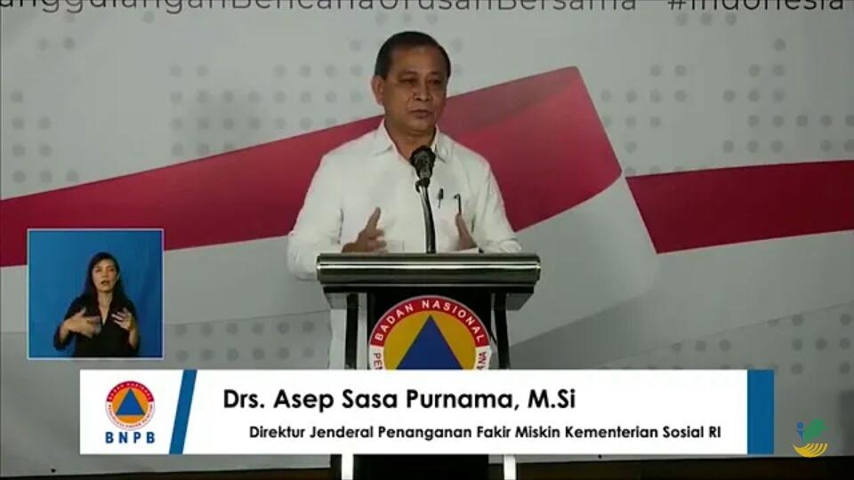 Direktur Jenderal Penanganan Fakir Miskin Kementerian Sosial Republik Indonesia (Kemensos RI), Asep Sasa Purnama. Foto: Istimewa