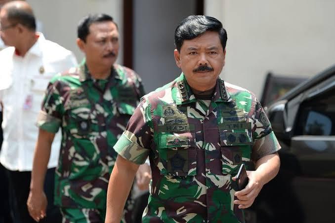 Panglima TNI, Masekal. Hadi Tjahjanto. Foto: kompas