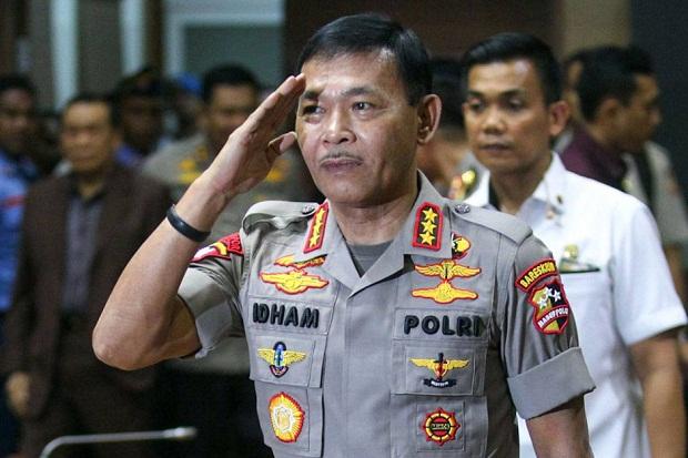 Kapolri Jendral Polisi Idham Azis.