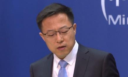 Juru Bicara Kementerian Luar Negeri Zhao Lijian. Foto: tangkaplayar