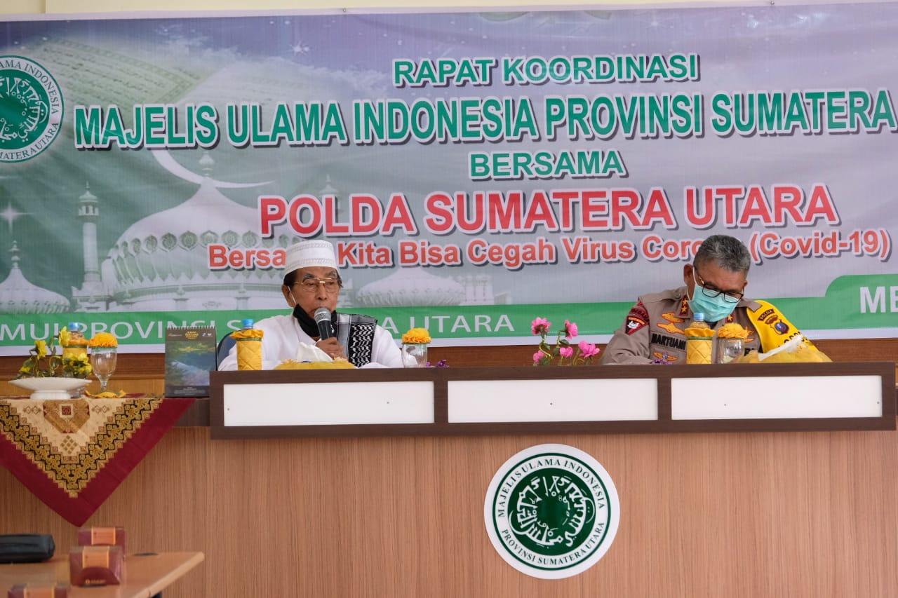 Rakor Polda Sumut dan MUI Sumatera Utara. Foto: Istimewa