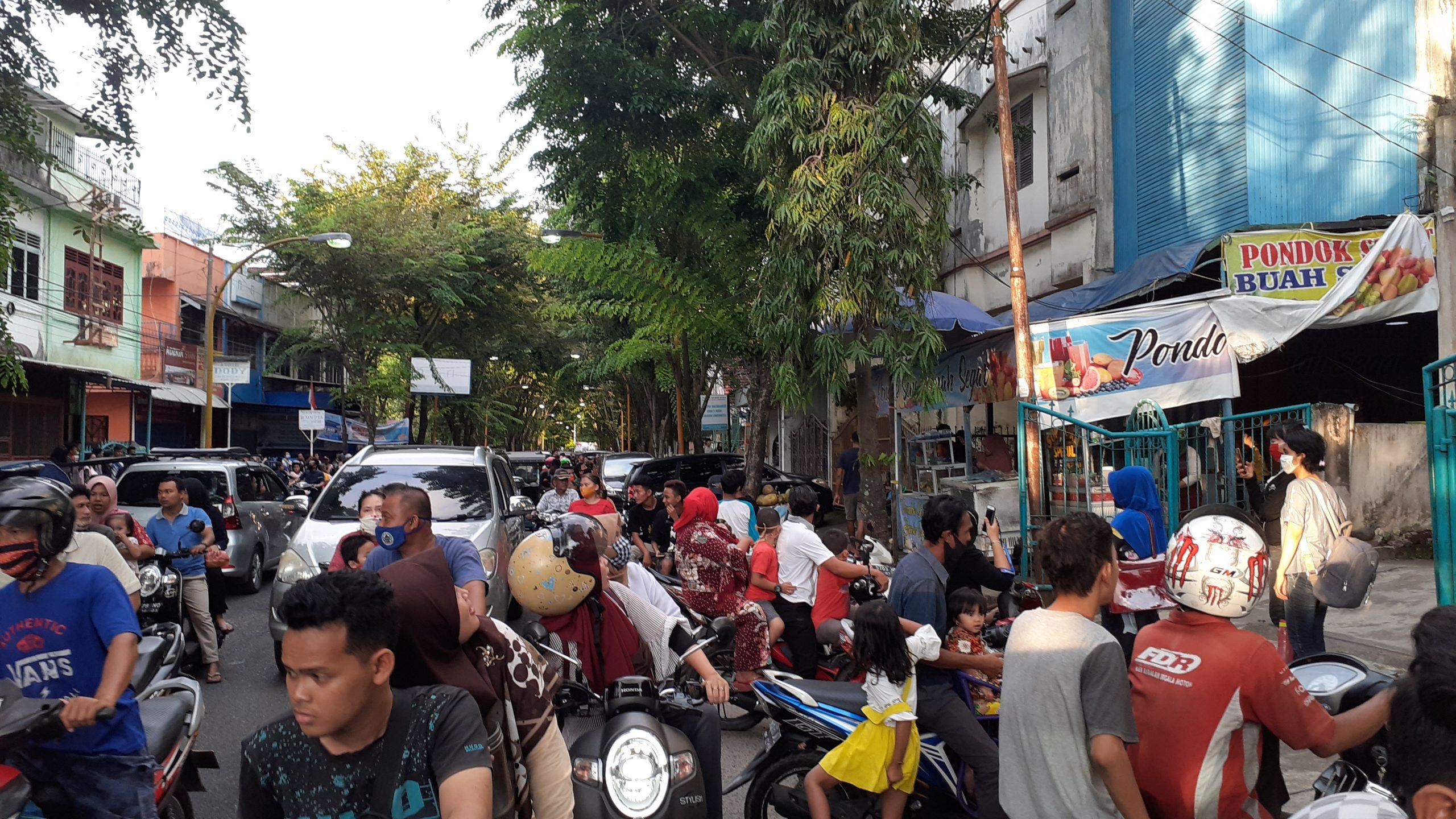 Kondisi Warga terkini saat mengetahui adanya pencurian sarang walet. Rakyatsumut.com/ Mirwan Tanjung
