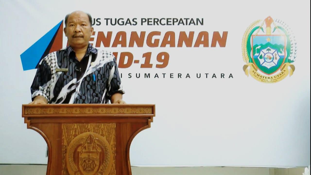 Kepala Dinas Tenaga Kerja Provinsi Sumut Harianto Butarbutar. Foto: Istimewa