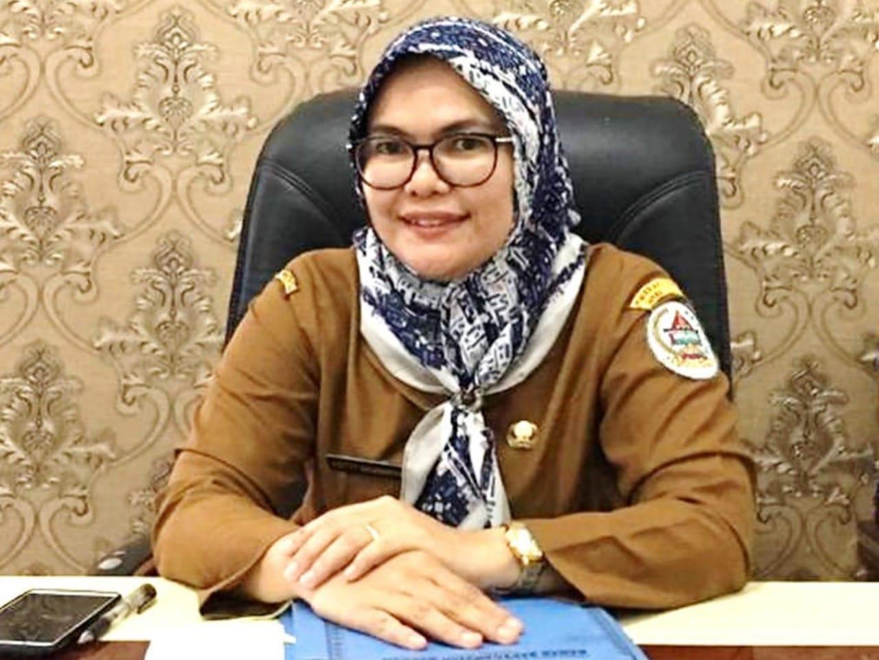 Kepala BKD Kabupaten Tapanuli Tengah, Yetty Sembiring. Foto: Istimewa