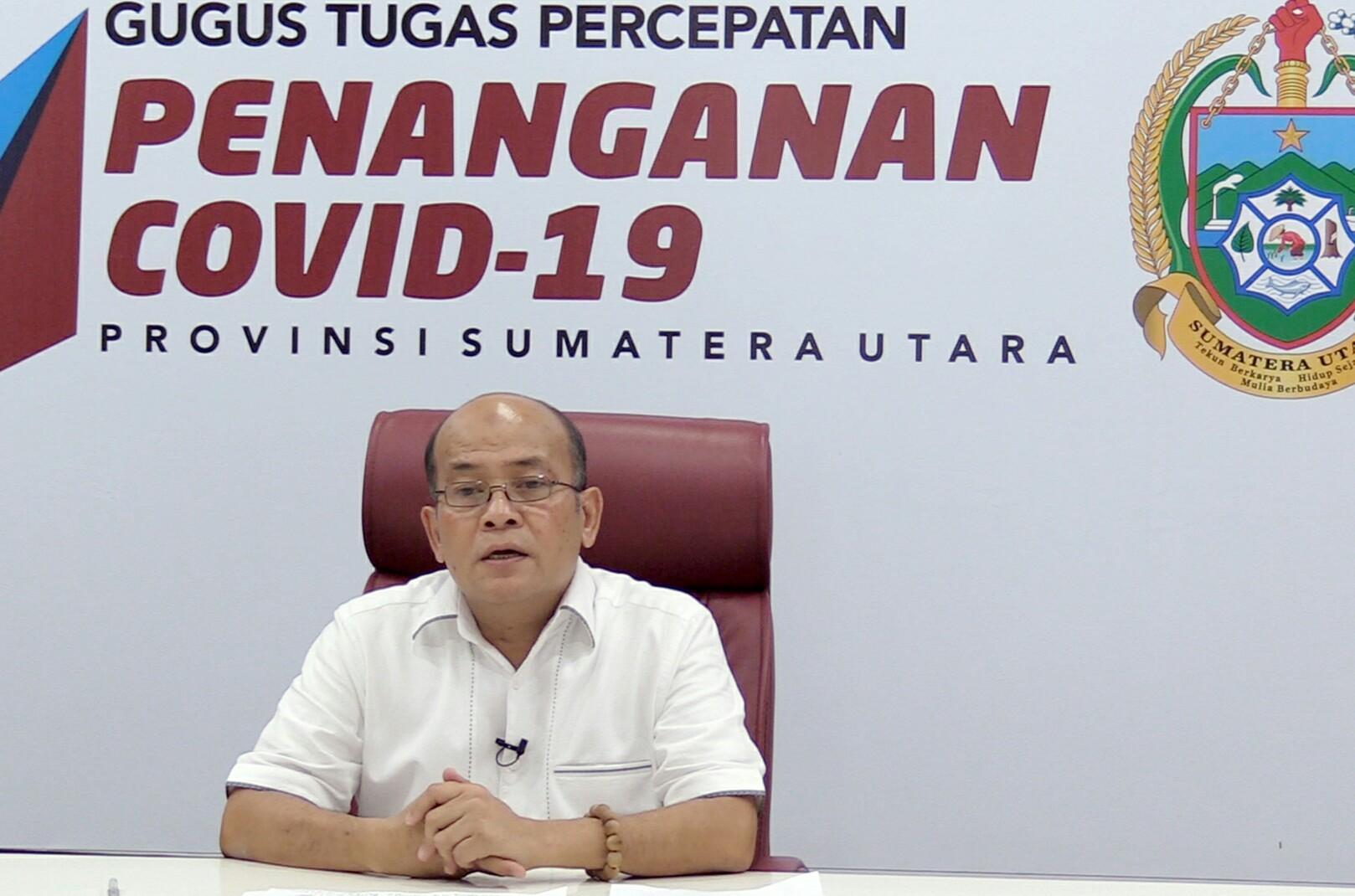 Kepala Badan Penanggulangan Bencana Daerah (BPBD) Provinsi Sumatera Utara (Sumut) Riadil Akhir Lubis. Foto: Humas Sumut/dokumen
