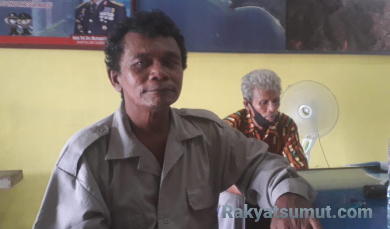 Usman Harahap, Nahkoda KM Gemilang 717 GT 02 asal Barus yang selamat dari maut. Foto: Rakyatsumut.com/ Damai Mendrofa