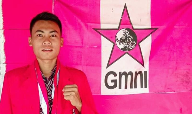 Wakil Ketua Bidang Politik DPC GMNI Gusit-Nias, Krisman Zendrato. Foto: Istimewa