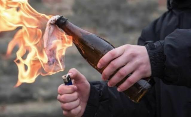 Ilustrasi bom molotov. Foto: Istimewa