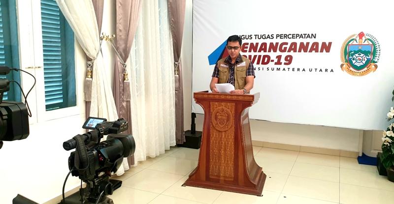 Jubir GTTP Sumut Whiko Irwan. Foto: Istimewa