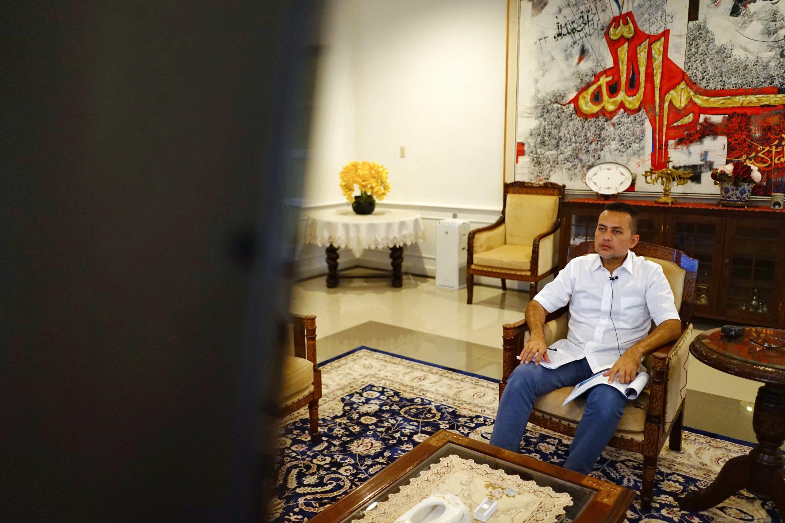 Wakil Gubernur Sumatera Utara Musa Rajekshah menjadi salah satu pembicara dalam Pelatihan Berkebun di Kota, Rabu (17/6/2020). Foto: istimewa