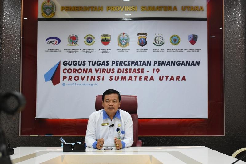 Sekretaris PPDB Dinas Pendidikan Sumut tahun 2020 Saut Aritonang. Foto: Istimewa