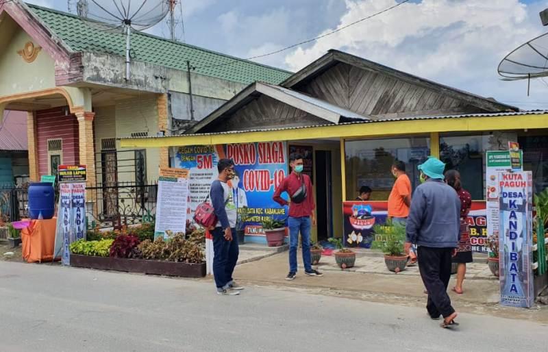Kuta Paguh Kandibata di Kabupaten Karo. Foto: Istimewa