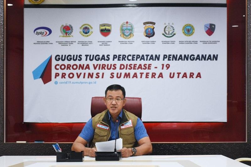 Jubir Gugus Tugas Percepatan Penanganan (GTPP) Covid-19 Sumatera Utara, Whiko Irwan. Foto: Istimewa