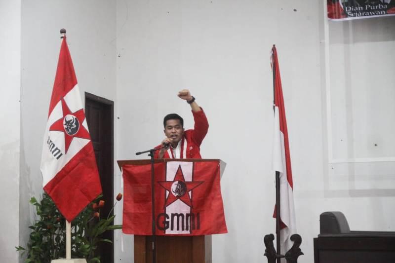 Ketua Komisariat FH USU, Mike Situmeang. Foto: Dokumentasi pribadi