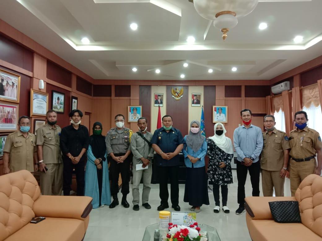 Foto bersama Wali Kota Sibolga dan Pengurus Komantab. Foto: Istimewa