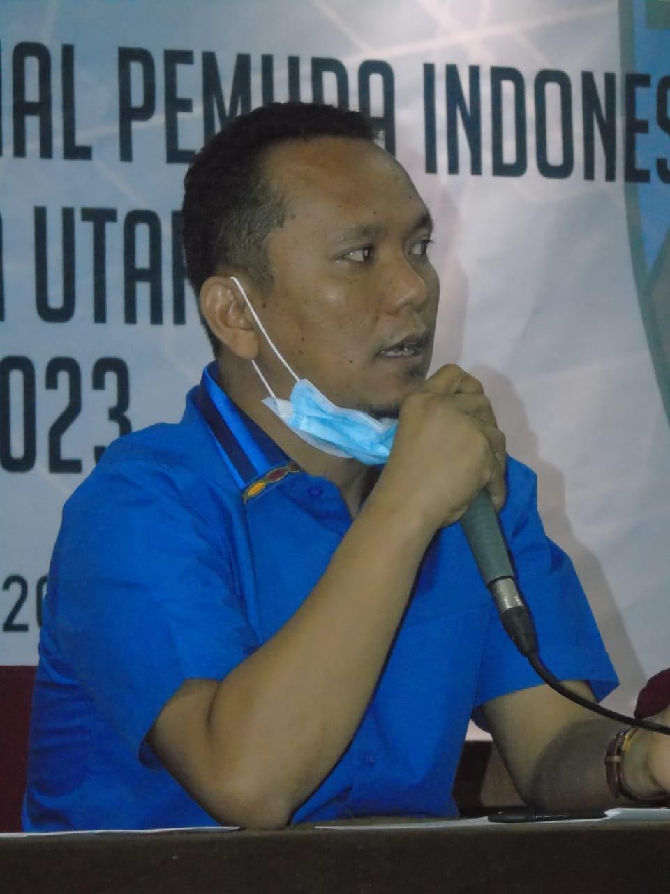 Ketua KNPI Sumut, Samsir Pohan. Foto: Istimewa