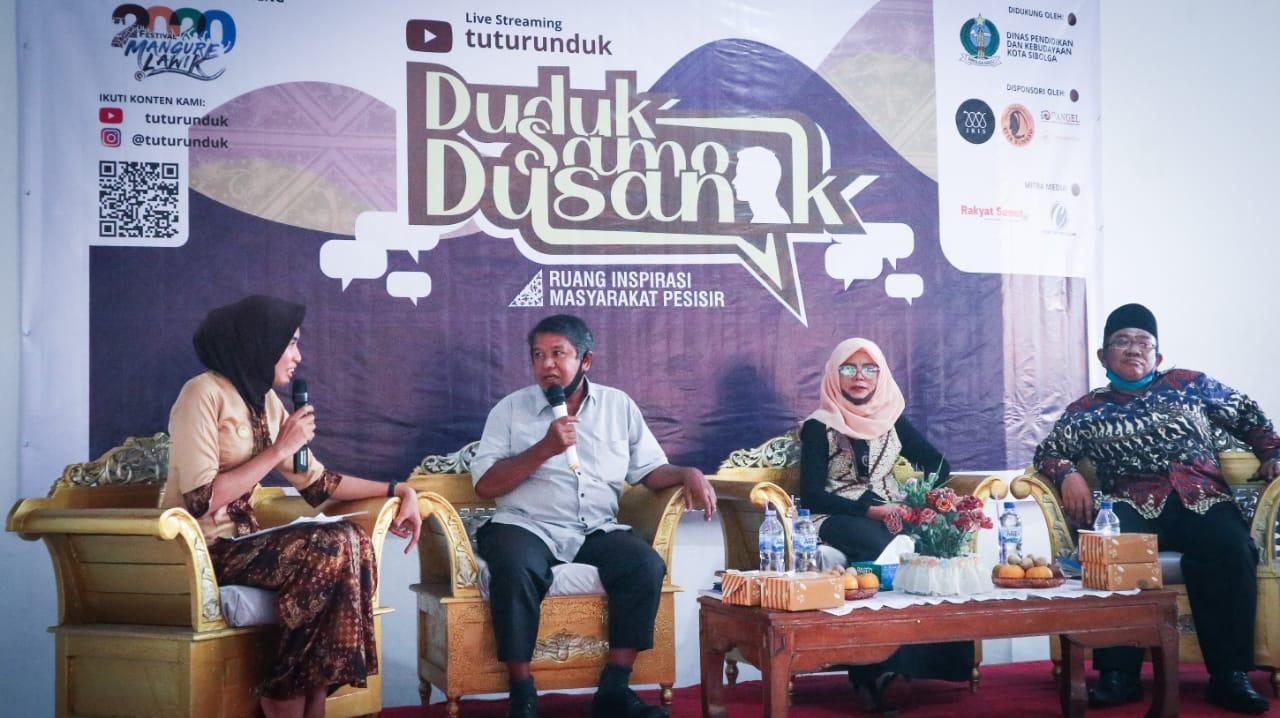 Suasana diskusi Duduk Samo Dusanak yang digelar FKK. Foto: Istimewa