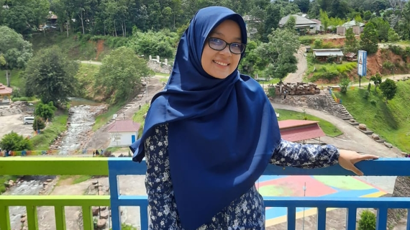 Qisti Marhamah Nasution. Foto: Dok Pribadi