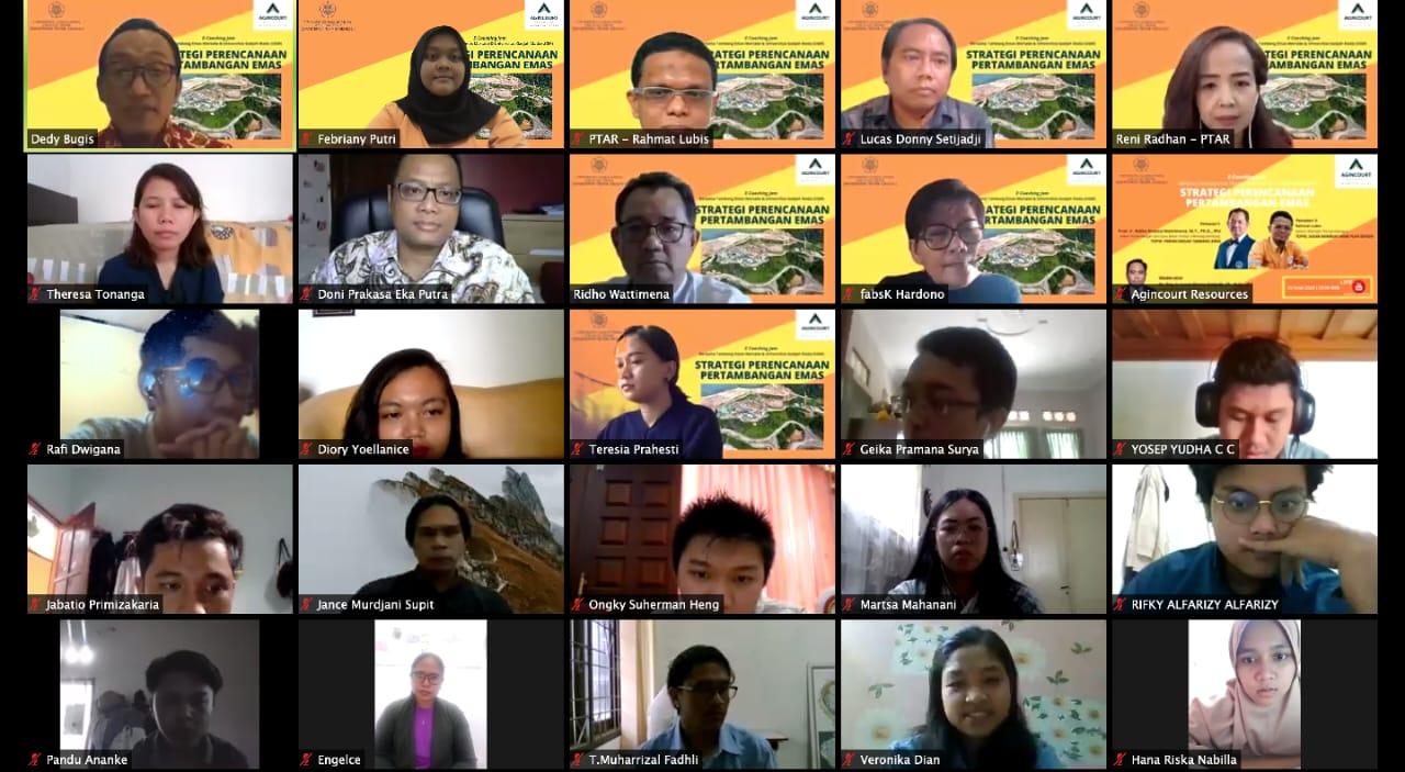 Live zoom saat E-Coaching Jam (ECJ) 2020 diselenggarakan. Foto:istimewa