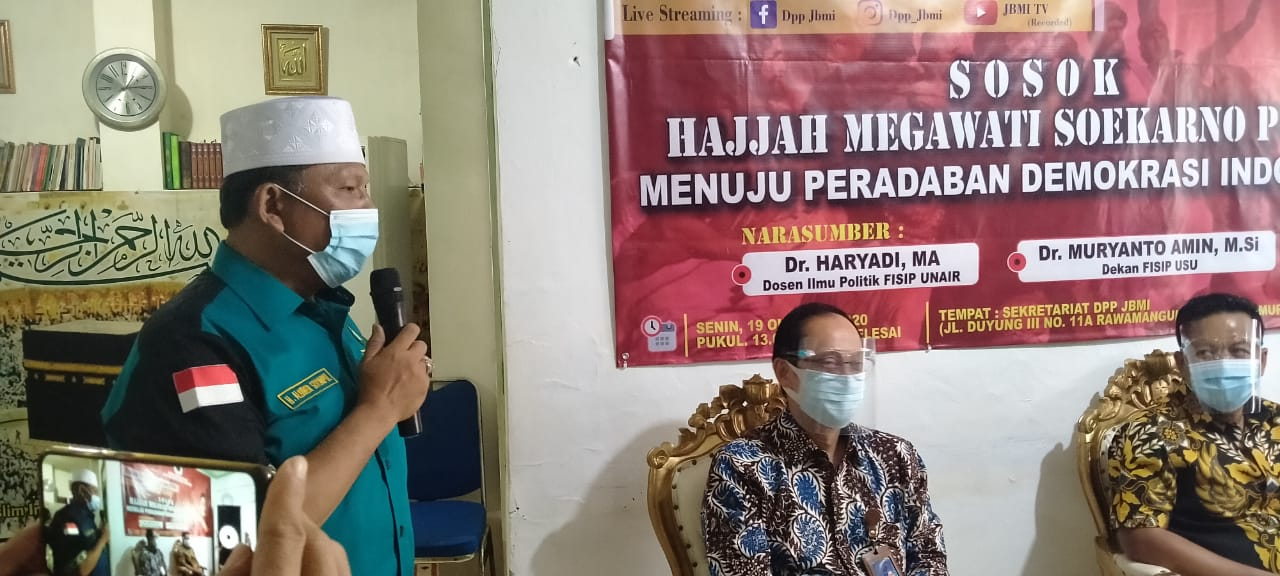 FGD 'Menuju Peradaban Demokrasi Indonesia yang digelar JBMI. Foto: istimewa