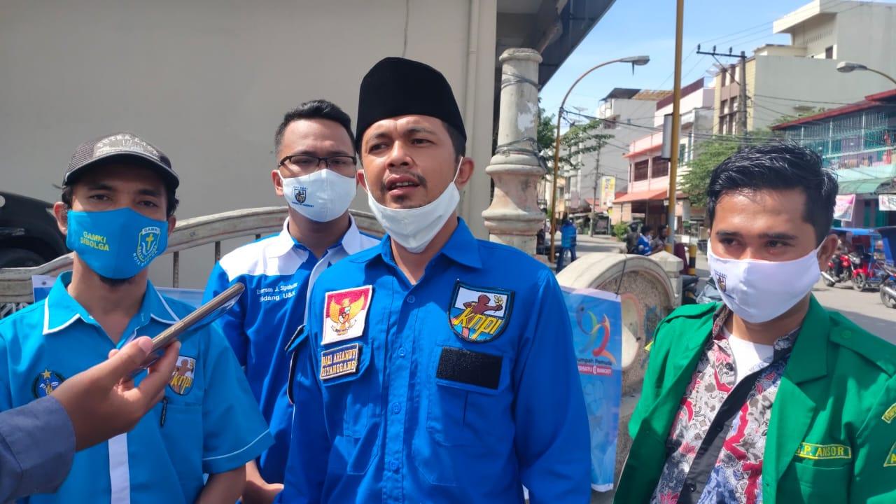 Bendahara KNPI Sibolga, Hadi Sitanggang