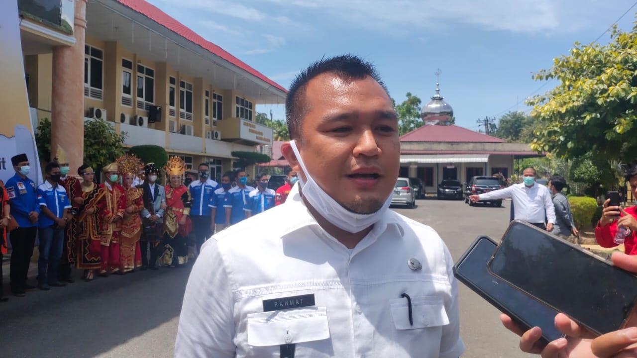 Kepala Dinas Pemuda dan Olahraga (Parpora) Sibolga Rahmad Tarihoran. Foto: istimewa