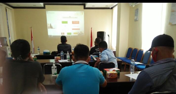 Para Jurnalis Sibolga-Tapteng saat mengikuti Workshop. Foto: Rakuatsumut.com/ Rommy