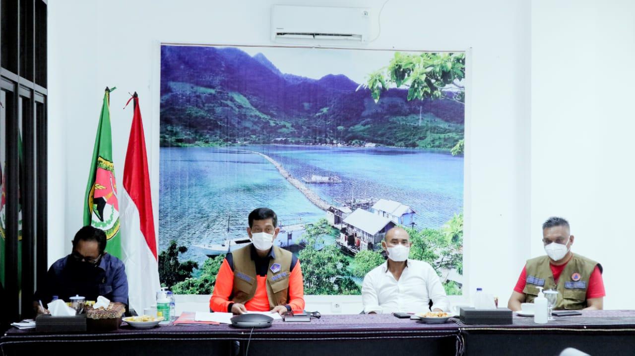 Rakor penanganan bencana Nusa Tenggara Timur (NTT). Foto: Istimewa