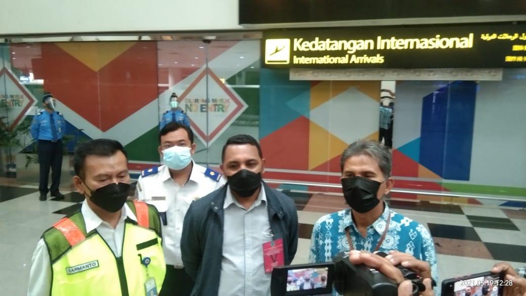 Ombudsman Sumut saat meninjau pelayanan WNI dan WNA di Bandara Kualanamu. Foto: Dokumentasi Ombudsman RI Sumut