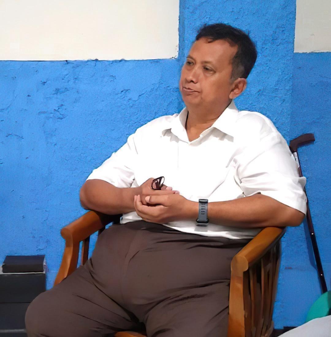 Terpidana Kasus Korupsi Vaksin Flu Burung, Tunggul Sihombing. Foto: Istimewa
