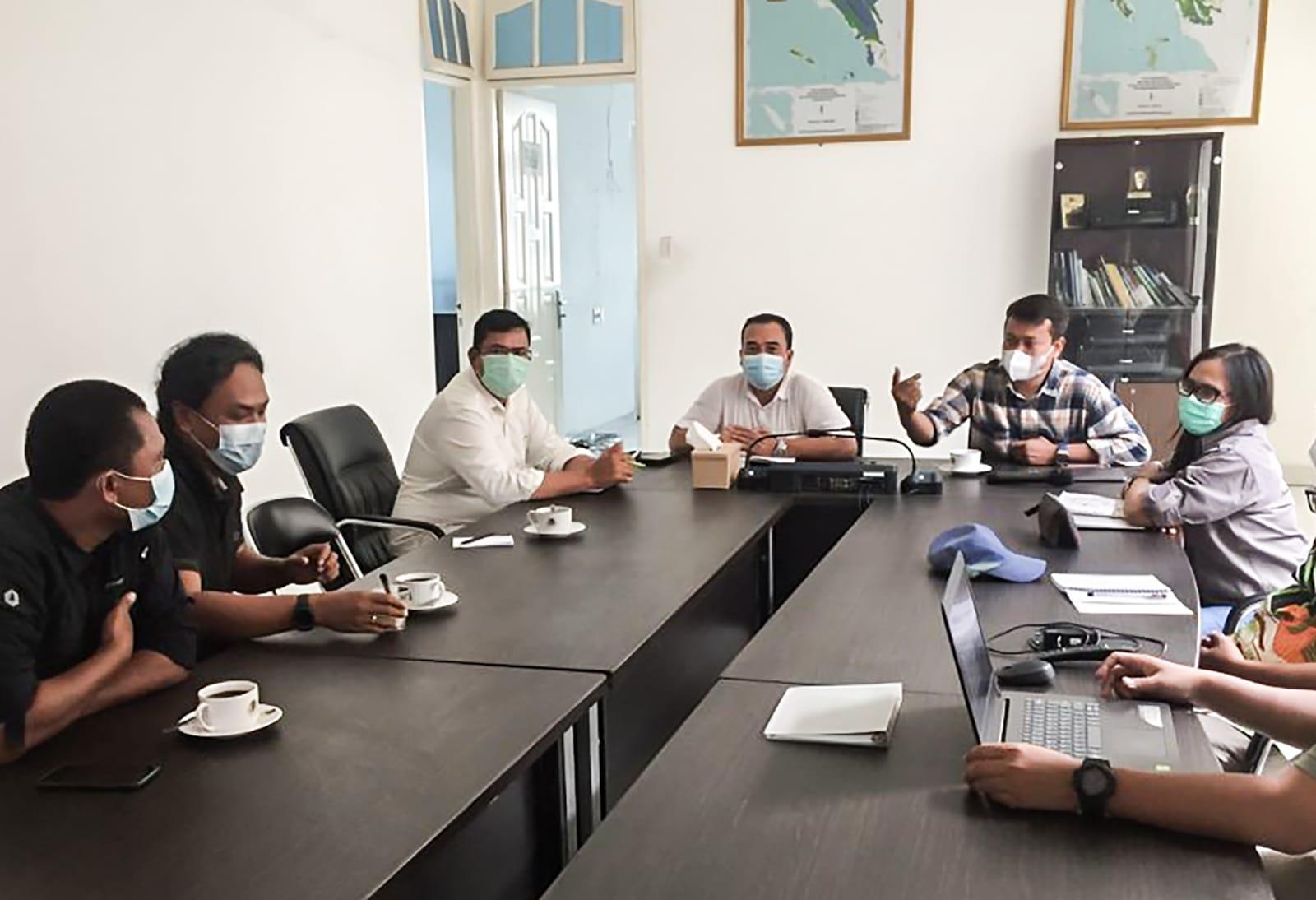 Pertemuan antara STFJ-YOSL OIC dan Balai Gakkum LHK Wilayah Sumut. Foto: Sumut